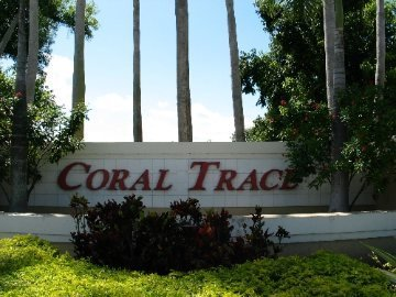 Coral Trace sign