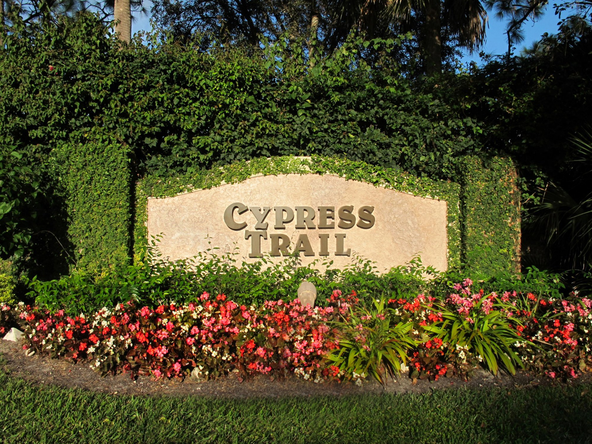 Cypress Trail Parkland Homes for Sale