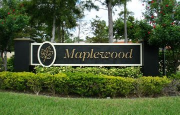 Maplewood Sign