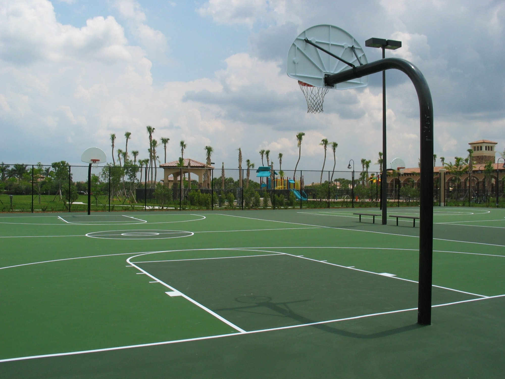 Heron Bay Basket Ball Courts
